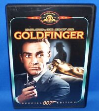 DVD Goldfinger Special 007 Edition MGM (actual photo) 1999