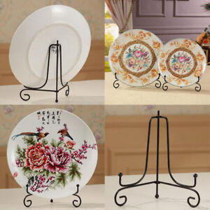 Iron Easels Plate Holders Dish Rack Picture Frame Holder Display Stand