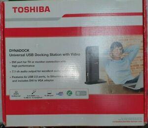 Toshiba Dynadock-Universal USB Docking Stations With Video (DVI) PA3542E-2PRP