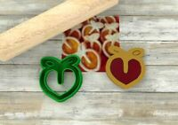 Formine biscotti Pesche ripiene formine per biscotti cookie cutters tagliapasta