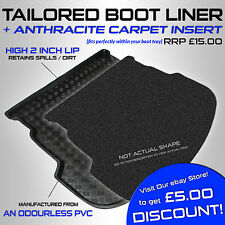 Volvo V50 ESTATE 2004+ Tailored PVC Boot Liner / Mat [A]
