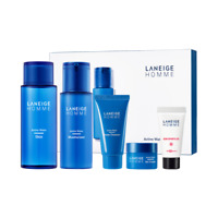LANEIGE Homme Active Water Moisturizing Skincare Set moisture, refresh K-Beauty