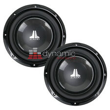 "Two (2) JL AUDIO 8W1v3 Car Subs 8"" W1v3 SVC 4 ohm Subwoofers 600 Watts New"