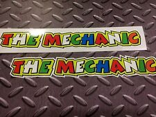 THE MECHANIC, Rossi Car Helmet Fairing Motorcycle Scooter Stickers 2 off 200mm