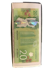 Low serial number Canadian $20 banknote