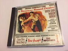 A STREETCAR NAMED DESIRE (Max Steiner) OOP 1992 CNR Score Soundtrack OST CD NM