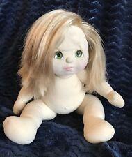 Mattel My Child Doll 1985 Vintage Green Eyes Strawberry Blonde Red Hair Nude