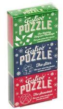 Professor Puzzle Festive Matchbox Triple Pack Game