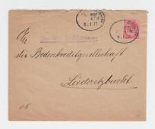 SOUTH WEST AFRIQUE 1917 DOUBLE CENSURE Housse, windhoek-luderitzbucht, 1D (