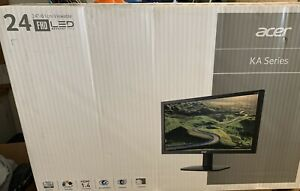 New in Sealed Box Acer 24' KA240H Monitor - 1920x1080 Resolution LED FHD Monitor