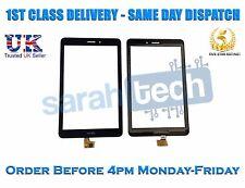 Huawei MediaPad T1 8.0 s8-701 S8-701u numériseur tactile verre AVANT NOIR