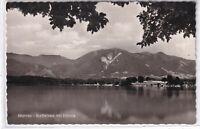 Ansichtskarte Murnau - Blick auf den Staffelsee mit Hörnle - schwarz/weiß