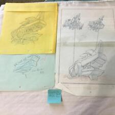 TRANSFORMERS JAPANESE BEAST WARS 2 II PRODUCTION ART GIGASTORM THRUST LOT 66