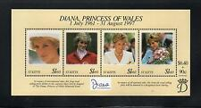 St Kitts 1999 Diana Commem Sheet. MINT/MNH One postage for multiple buys. Rx
