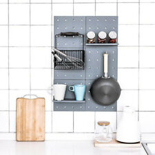 Wall Mounted Storage Rack Organizer Stationery Sundries Holder Bathroom Shelf LL