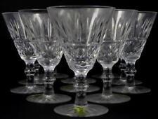 11pc WATERFORD TRAMORE CUT CRYSTAL WINE CLARETS Lot 56