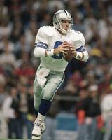 1995 Dallas Cowboys TROY AIKMAN 8x10 Photo NFL Football Print Poster