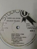 Delroy Wilson-Good All Over Vinyl LP REGGAE ROCKSTEADY