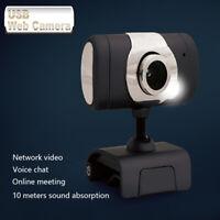 USB HD Web Cam Camera Webcam with Mic for Computer PC Laptop Desktop 720/1080p
