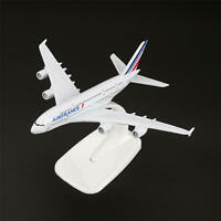 16cm Aircraft Plane Airbus380 Airlines A-380 Air France Aircraft Diecast Model