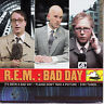 """R.E.M. (REM)  Bad Day PICTURE SLEEVE 7"""" 45 rpm record + juke box strip BRAND NEW"""