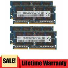 SK Hynix 32GB 4X 8GB DDR3 1600MHz PC3L-12800 204pin Sodimm Laptop Memory RAM LA