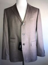 38f3871a2 NWT $995 Boss Hugo Boss Johnston2 Silk Sport Coat Jacket Brown 42R US (52 Eu