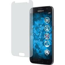 1 x Samsung Galaxy S7 Película protectora de vidrio templado mate