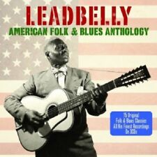 Leadbelly American Folk & Blues Anthology 3-CD NEW SEALED Midnight Special+
