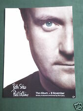 PHIL COLLINS -  MAGAZINE CLIPPING / CUTTING- 1 PAGE ADVERT