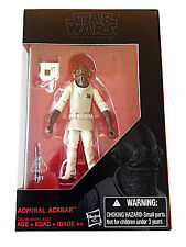 Hasbro Star Wars Black Series Admiral Ackbar 3.75 Inch Figure