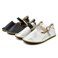 New Womens Casual Shoes Mary Jane Flat Shoes Ankle Strap Walking D'orsay Flats