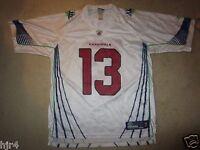 Kurt Warner #13 Arizona Cardinals Super Bowl NFL Reebok Jersey LG L mens