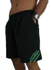 Plus Size Übergröße Logo Herren Badehose Badeshort Shorts Short Bermuda DK55116