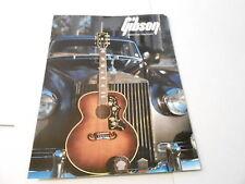 VINTAGE MUSICAL INSTRUMENT CATALOG #10077 - 1986 GIBSON GUITARS