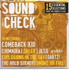 (744H) Rock Sound No 94, Sound Check 2007 CD