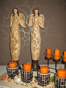 Engel Engelfiguren Skulpturen Statuen Dekoration Weihnachen antik Shabby Chic