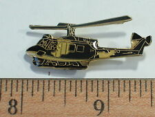 UH-1 Huey Helicopter Vintage Pin Badge , (large)  (**)