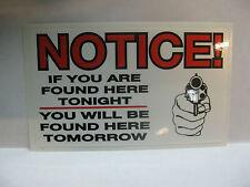 WARNING TRESPASSERS WILL BE SHOT   RAT ROD HOT ROD CHOPPER  BOBBER
