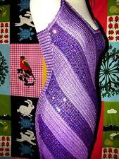 NEW LOOK ROBE  DRESS SIRENE CROCHET BAYADERE PAMPILLES SOIREE   TM 40