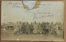 Prisonniers Bulgare Macédoine Photo sur papier carte postale 9x14cm 1916