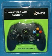 Hydra-Performance Black Large Xbox Wired Controller With 2 Vibrating Motors *NEW