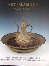 Catalogue de vente Art Islamique de l'Islam d'Orient Orientaliste Orientalisme 8