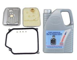 For VW Bettle Golf Jetta Auto Trans Filter Kit & 5L Fluid 01M398009 / 1058206