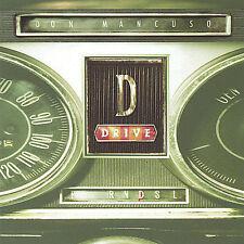 DON MANCUSO - D Drive -  Classic ROCK - rare CD-Issue/SEALED