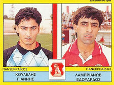 N°450 PLAYERS PANSERRAIKOS FC GREECE PANINI GREEK LEAGUE FOOT 95 STICKER 1995