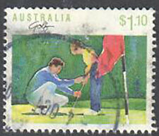 SC#1112 - $1.10 Australia 1989 Sports Series I - Golf Used