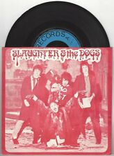 "Slaughter & the Dogs ""Cranked Up Really High"" 7"" OOP vinyl Lurkers Adverts and"