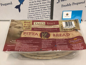 Cyprus Style Large Pitta Bread 1 Pack Of 6 Ambient Tasty Bake Cypriot Style