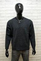 Maglione Uomo Avirex Taglia XL Cardigan Pullover Sweater Felpa Lana Grigio Man